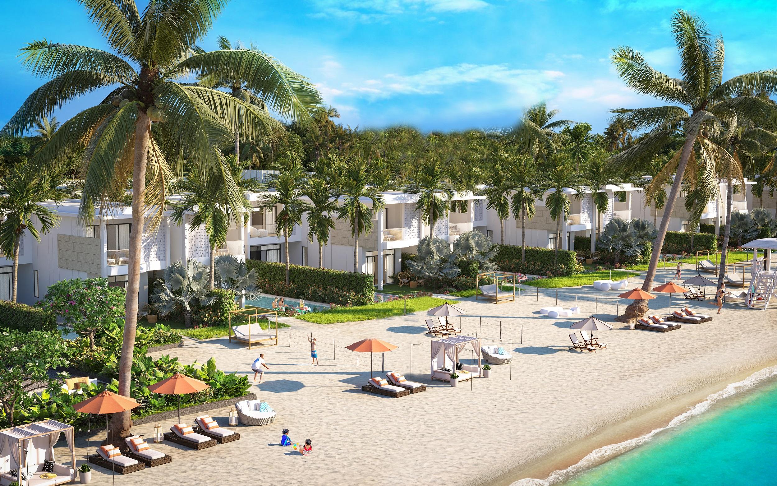 5. Villa biển